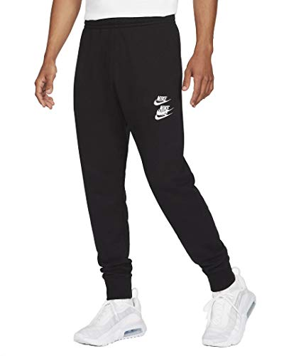 Nike M NSW CF FT Pant WTOUR Pantalon de Compression, Black, M Homme