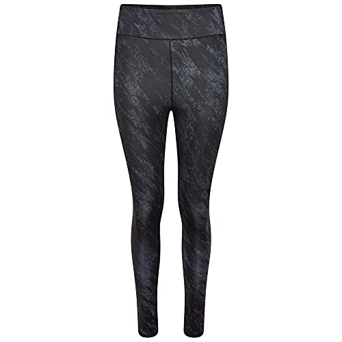 Dare 2b Influential Tight Pantalones, Mujer, Ebony Grey Black Shard, 36