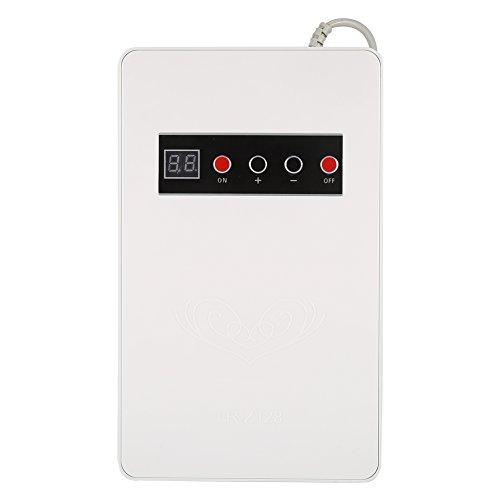 Yosoo - Generador de ozonador de ozonador, hogar, agua, esterilizador de verduras, desintoxicación de frutas, 220 V, 50 Hz, 600 mg/h (blanco)