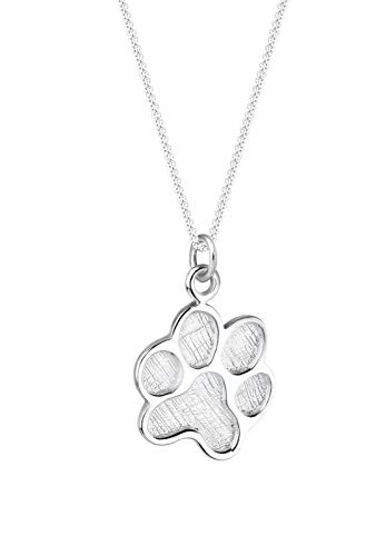 Elli Halskette Damen Pfote Symbol Hund in 925 Sterling Silber