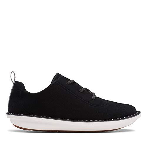 Clarks Damen Step WeltFree. Sneaker, Schwarz (Black Black), 38 EU