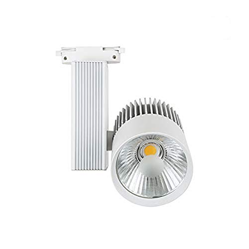 Foco de Carril LED 30W Monofásico G8002 Blanco Neutro 4000k-4500k 3000 Lúmenes Focos de Techo ONSSI LED
