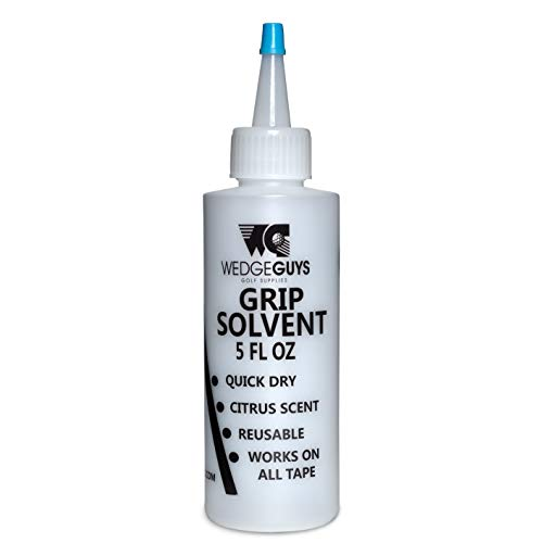 Wedge Guys Professional Golf Grip Solvent for Regripping Golf Clubs 5 Ounce Solution for Easy Regripping and Golf Club Repair