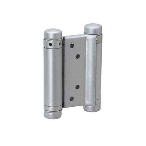 Metafranc Pendeltürband 75 mm - 2 Stück - 20 kg Tragfähigkeit - Aus robustem Metall / Pendeltürbeschlag für Schwingtür / Western-Beschlag für Saloon-Türen / Türband / Pendelscharnier / 311336