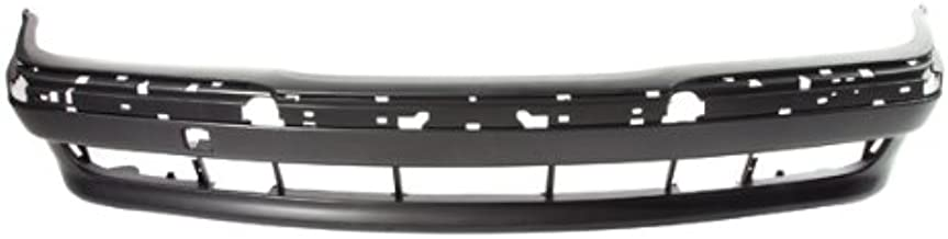 Bumper Trim Molding compatible with BMW 7-Series 95-01 Front RH Outer Cover Chrome Plastic Right Side