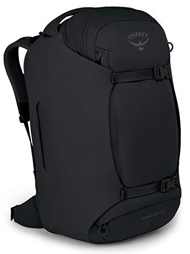 Osprey Porter 65 Travel Backpack, Black, One Size