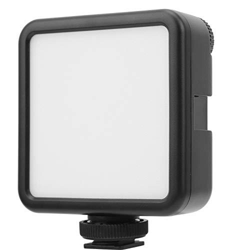 Luz de relleno de grabación de Vlog compacta y portátil Luz de relleno Fuente de luz más suave Luz de relleno portátil para varios trípodes de cámara para cámara