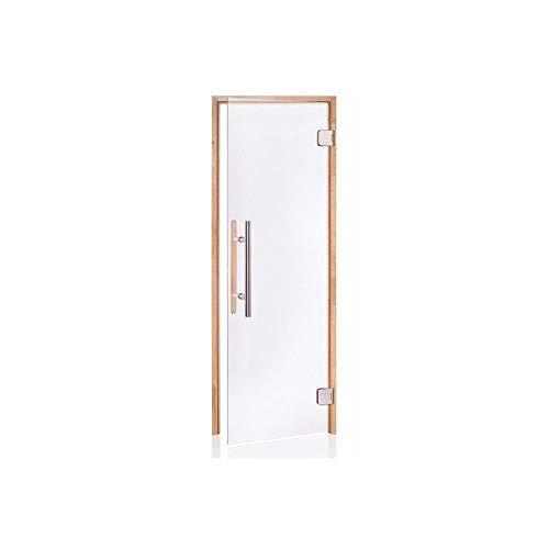 SAUNATÜR PREMIUM - Rahmenmaterial: Erle, Transparent, 70 x 190
