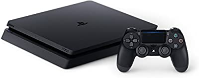 SONY PlayStation 4 Slim 1TB Console, Light & Slim PS4 System, 1TB Hard Drive, All the Greatest Games, TV, Music & More from Sony