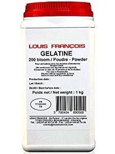 Gelatine Porcine 200 bloom poudre (x 1 kilo)