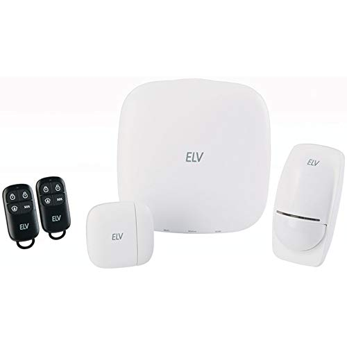 ELV Funk-Alarmanlage FAZ5500 GSM/WLAN Smart Home System