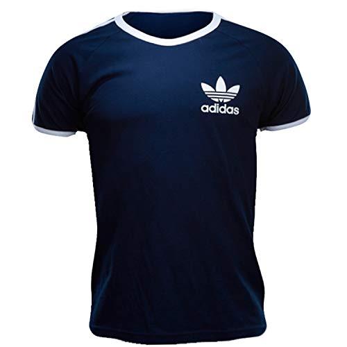 Adidas T-Shirt Men - Sport ESS Tee - Conavy, Größe:L