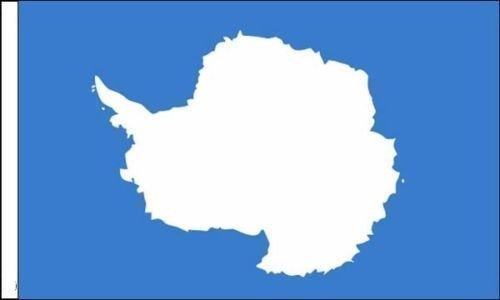 Antarktis Ärmeln Flagge geeignet für Boote 45cm x 30cm (45,7x 30,5cm) + 59mm Button
