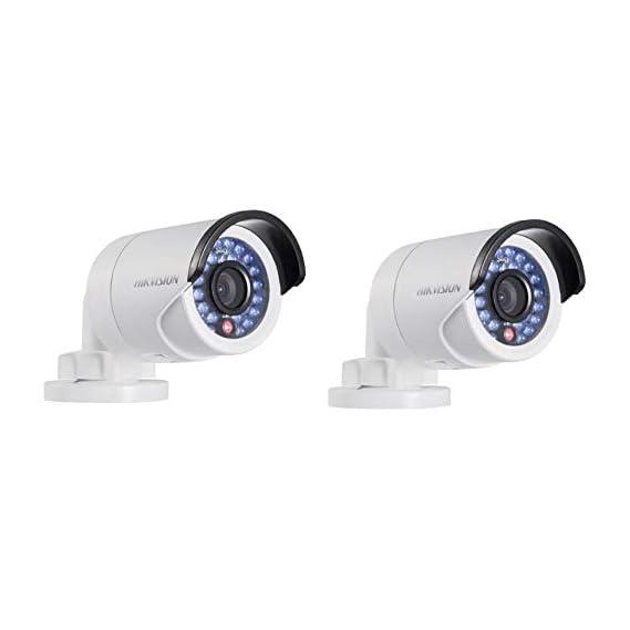 HIKVISION DS-1ADOT-IPECO Super ECO LED Mini Night Vision Bullet Camera (2MP, 2PC)