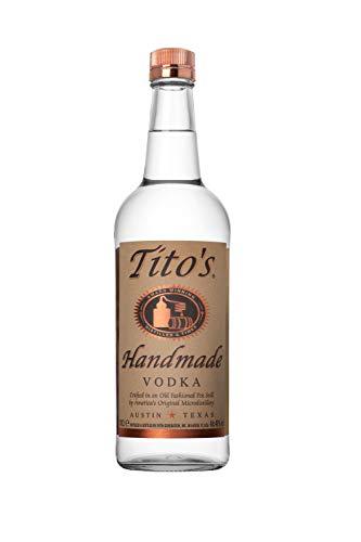 Tito´s Handmade Vodka 40% vol., 6-fach destilierter Wodka aus 100% Mais, Vodkamarke Nr. 1 in den USA (1 x 0.7 l)
