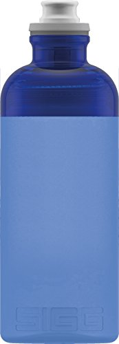 Sigg Hero Blue, Sport Trinkflasche, 0.5 L, Squeezable, Polypropylen, BPA frei, Blau