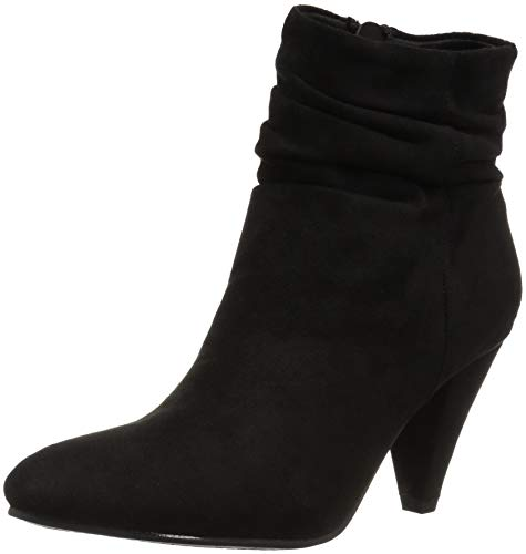 CL by Chinese Laundry Women's Nanda Ankle Boot, Black Suede, 7.5 M US