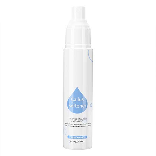 Foot Horniness Removal Spray Rough Skin Remover Refreshing Foot Callus Softener for Foot Care for Rough Foot Skin for Daily Use