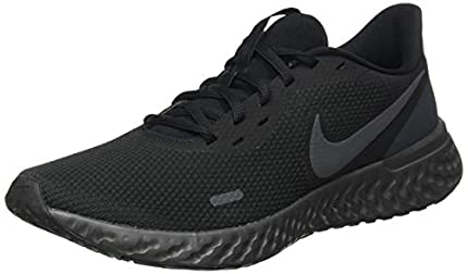 NIKE Revolution 5, Zapatillas de Correr Hombre, Negro (Black/Anthracite), 41 EU