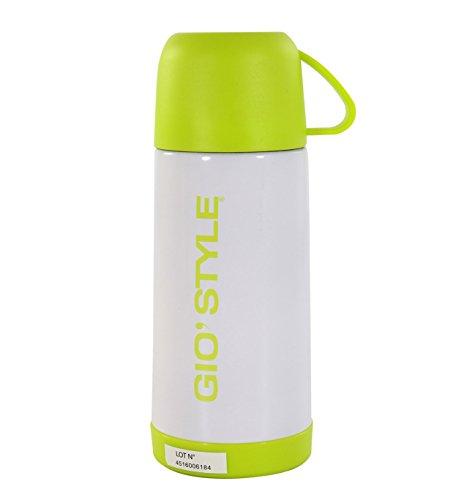 GIOSTYLE 6503009, Bouteille Unisexe – Adulte, Blanc, 7.5 x 5 x 19.5 cm