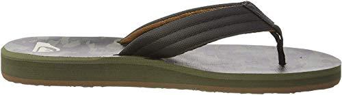 Quiksilver Carver Print, Zapatos de Playa y Piscina para Hombre, Negro (Black/Grey/Black Xksk), 43 EU