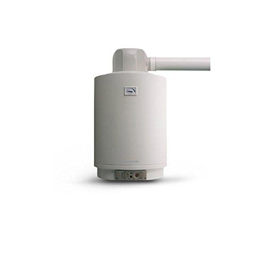 Calentador de Gas de Acumulación Ariston Sga Ffi S/80-Kit Completo de Descarga Humos...