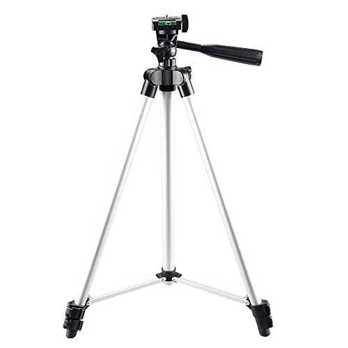 Trípode para cámara Canon DSLR EOS 1300D 1200D 1100D 760D 750D, Soporte de trípode para cámara Nikon Sony Fuji Panasonic DSLR para cámara Nikon Sony Fuji Panasonic DSLR