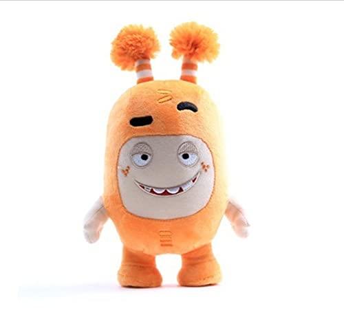 WPQL Lindos Juguetes de Peluche Oddbods, Juguetes Blandos de Dibujos Animados, muñecos de Peluche de Animales, para niños, cumpleaños,, 20 cm (Naranja)