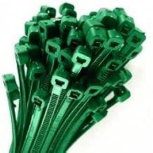 150/x Marron en plastique solide en nylon Attaches de c/âble 100/mm x 2,5/mm Wraps Fermeture /Éclair de voiture automatique de jardin