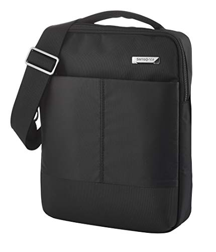 Samsonite Hip-Tech 2 Bolsas de mensajero, Tablet L, 10.5 Zoll (28cm - 5.5L), Black
