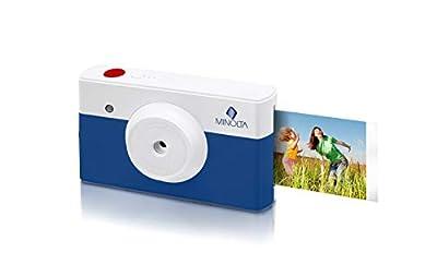 Minolta Instapix 2 in 1 Instant Print Digital Camera & Bluetooth Printer by