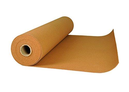 Rollenkork in verschiedenen Maßen und Stärken Kork Rolle Trittschalldämmung Dämmunterlage (Rollenkork 2 mm stark 1 x 30 m)