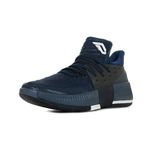adidas D Lillard Herren 3Herren Sportschuhe–Basketball, Blau–(azumis/Negbas/Ftwbla) 462/3