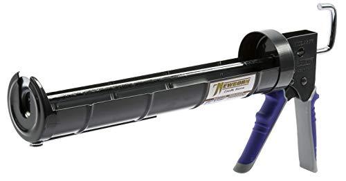 Newborn 915-GTR Super Ratchet Rod Cradle Caulking Gun with Gator Trigger Comfort Grip, 1/4 Gallon Cartridge, 6:1 Thrust Ratio