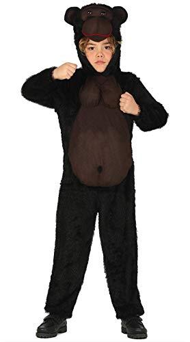 FIESTAS GUIRCA Disfraz Gorila Infantil Talla 7-9 años