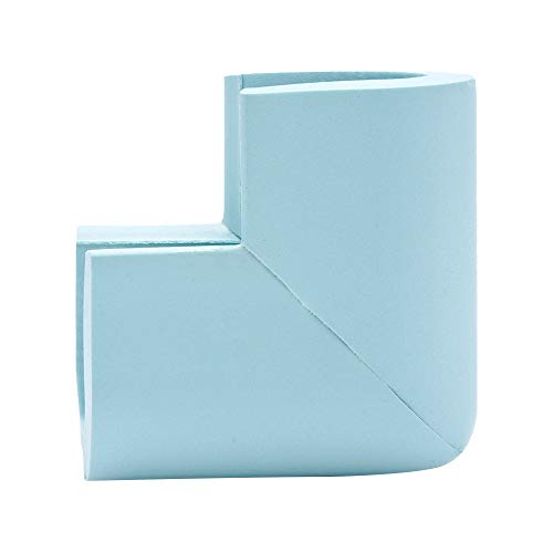 Baby Corner Protector Child Safety Cushion Soft Corner Bumpers for Furniture Corner Proofing for Baby Safety Table Edge Protector Baby Proofing Edge Corner Guards 8 Pcs,Light Blue