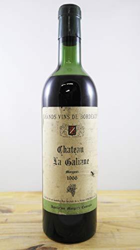 Vino Cosecha 1966 Château La Galiane Botella