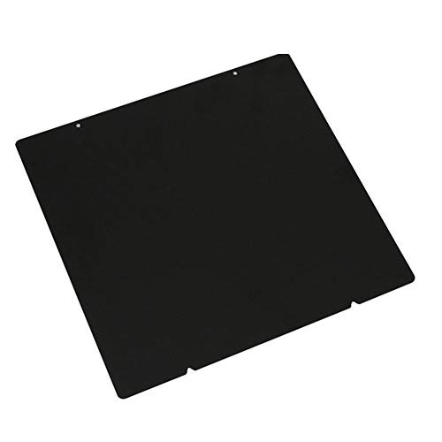 3D Printer Bed Build Surface Plate PEI Spring Powder Coated Steel Sheet Double-Sided Textured Compatible with Prusa i3