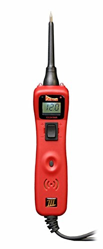 Power Probe III Clamshell - Red (PP3CSRED) [Car Automotive Diagnostic Test Tool, Digital Volt Meter, AC/DC Current Resistance, Circuit Tester]