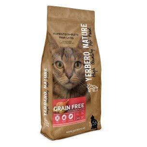YERBERO Nature Cats Grain Free Pavo Comida para Gatos SIN Cereales 1,5kg