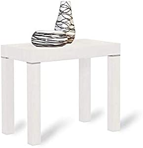 bazar dell'arredamento Tavolo consolle Estensibile Fino a 3 Metri, Bianco serigrafato
