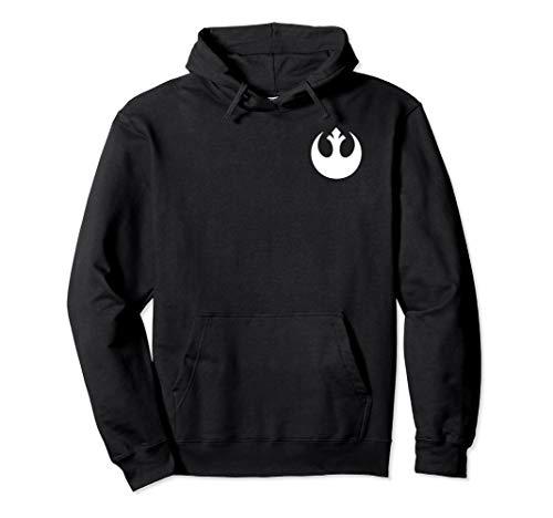 Star Wars Rebel Symbol Left Chest Hoodie