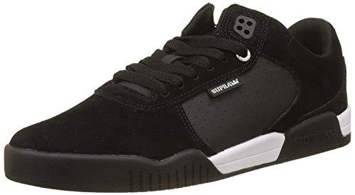 Supra Ellington Herren-Sneaker mit Schnürung, Schwarz (schwarz), 8.5 Women/7 Men