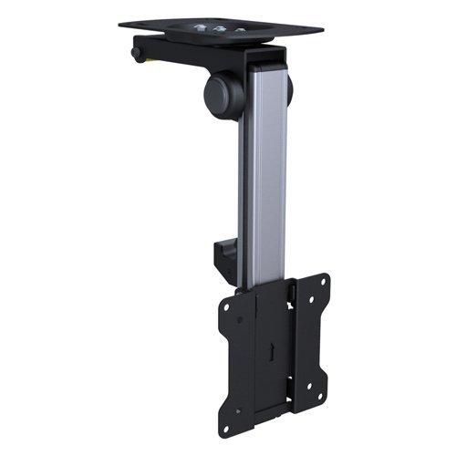 Premium TV Deckenhalterung, bis zu 105° neigbar für Dachschrägen, Höhe verstellbar, max. Traglast 15kg, max. VESA 100x100, universell HALTERUNGSPROFI CL211