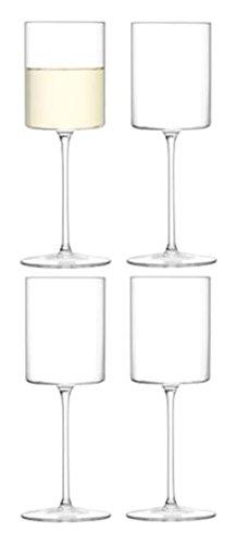 LSA International Weißweinglas Otis, durchsichtig, 240ml, 4Stück