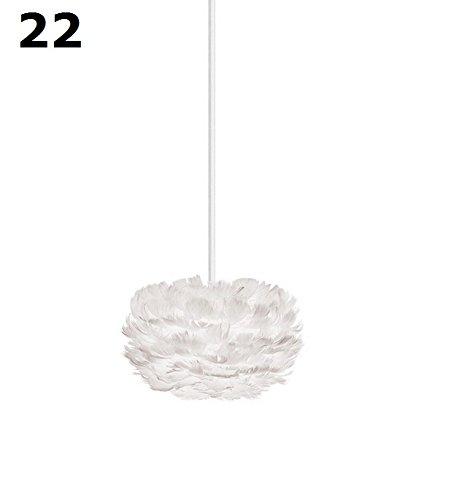 Vita, eos, Eos XS 22 cm, suspension avec câble blanc mat, XS = 22 cm, design Soren Ravn christensen