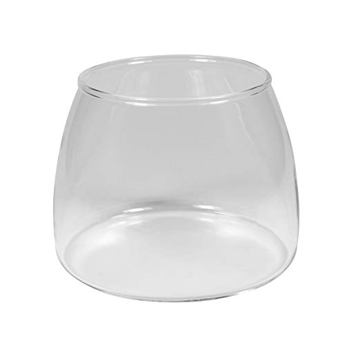 Univen 7 oz Coffee Ground Glass Jar Carafe fits KitchenAid Burr...