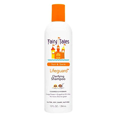 Fairy Tales Sun & Swim Lifeguard Clarifying Shampoo - Daily Kid Summer Shampoo - 12 oz