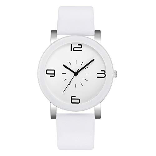 KiyomiQvQ Damen Armbanduhren Einfach Mode Uhr Schmuck Damenuhren Quarzuhr Lederuhr Armband Taschenuhr Wanduhr Chronograph Digitaluhr Sportuhr Automatikuhr Standuhr