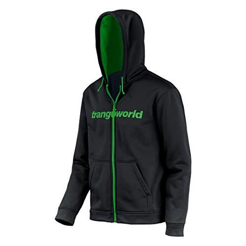 Trangoworld Ripon Chaqueta, Hombre, Negro/Verde, S
